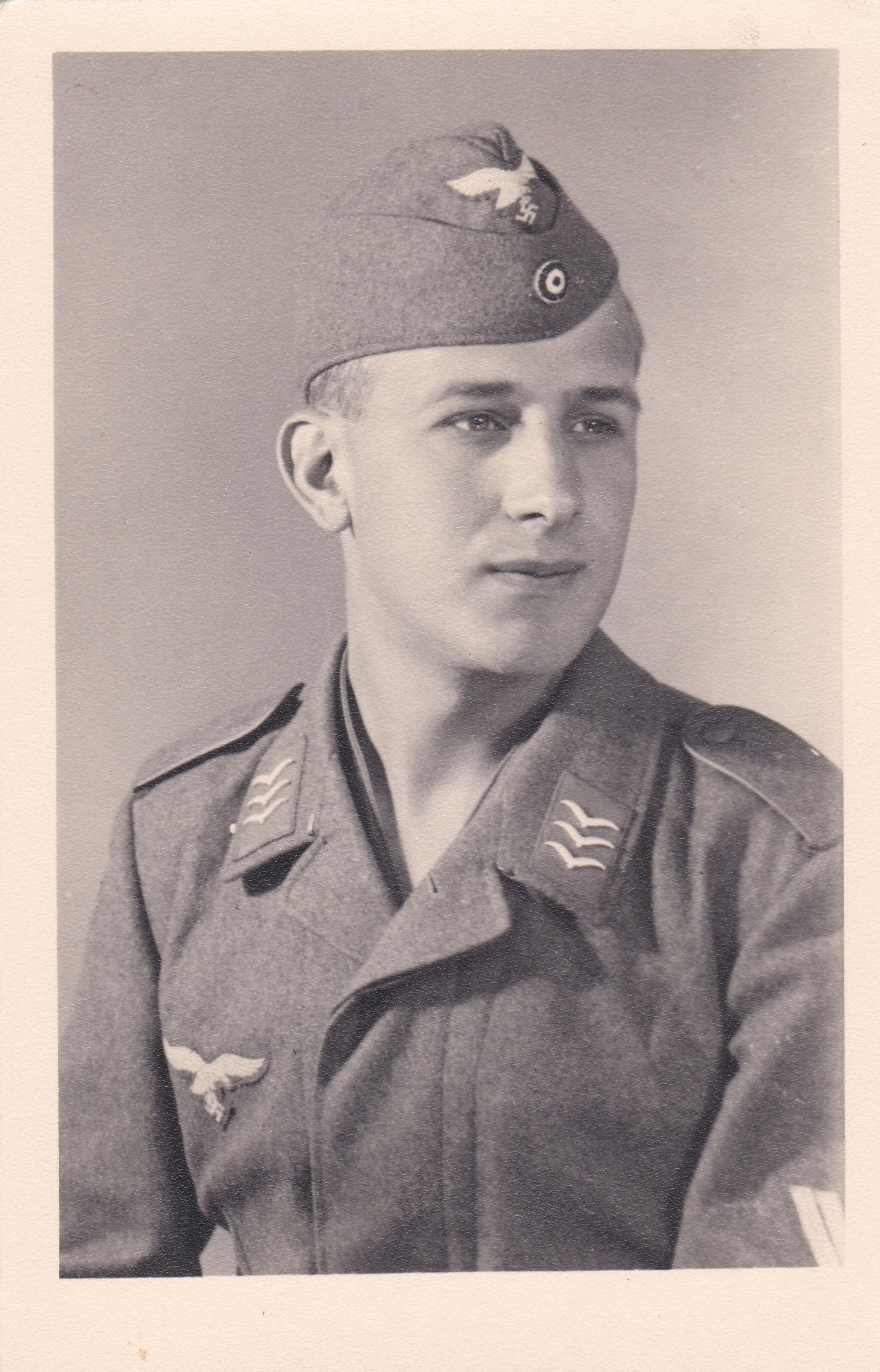 Foto Obergefreiter uniform soldaat Luftwaffe Wo2