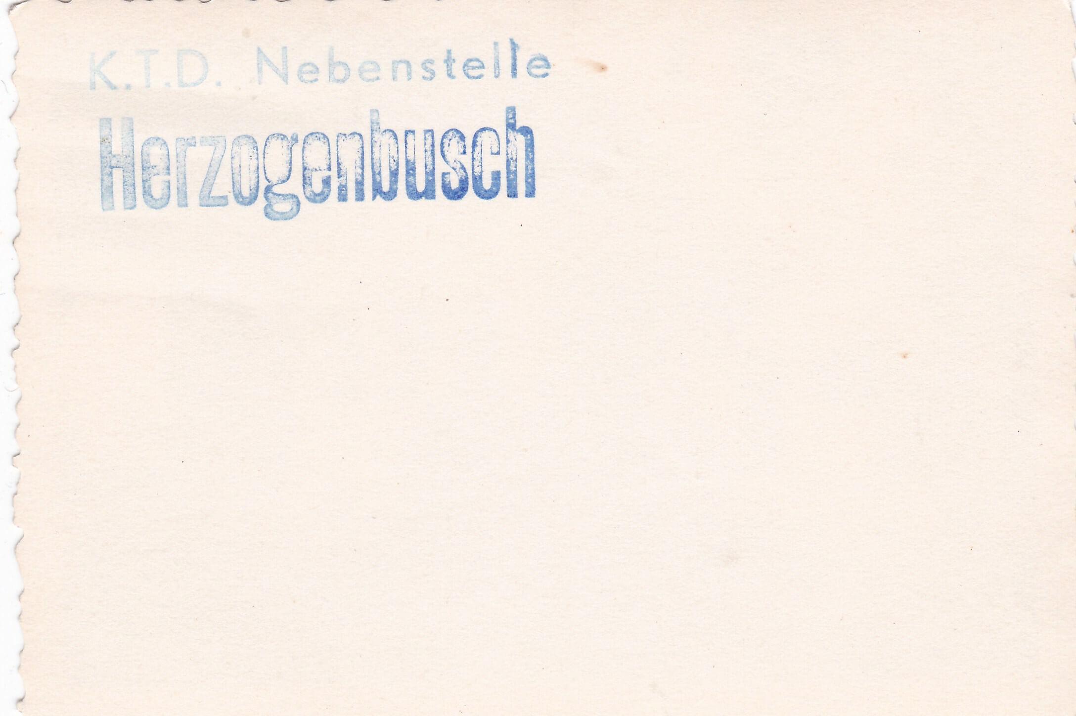 Foto K.T.D. Nebenstelle Herzogenbusch wo2