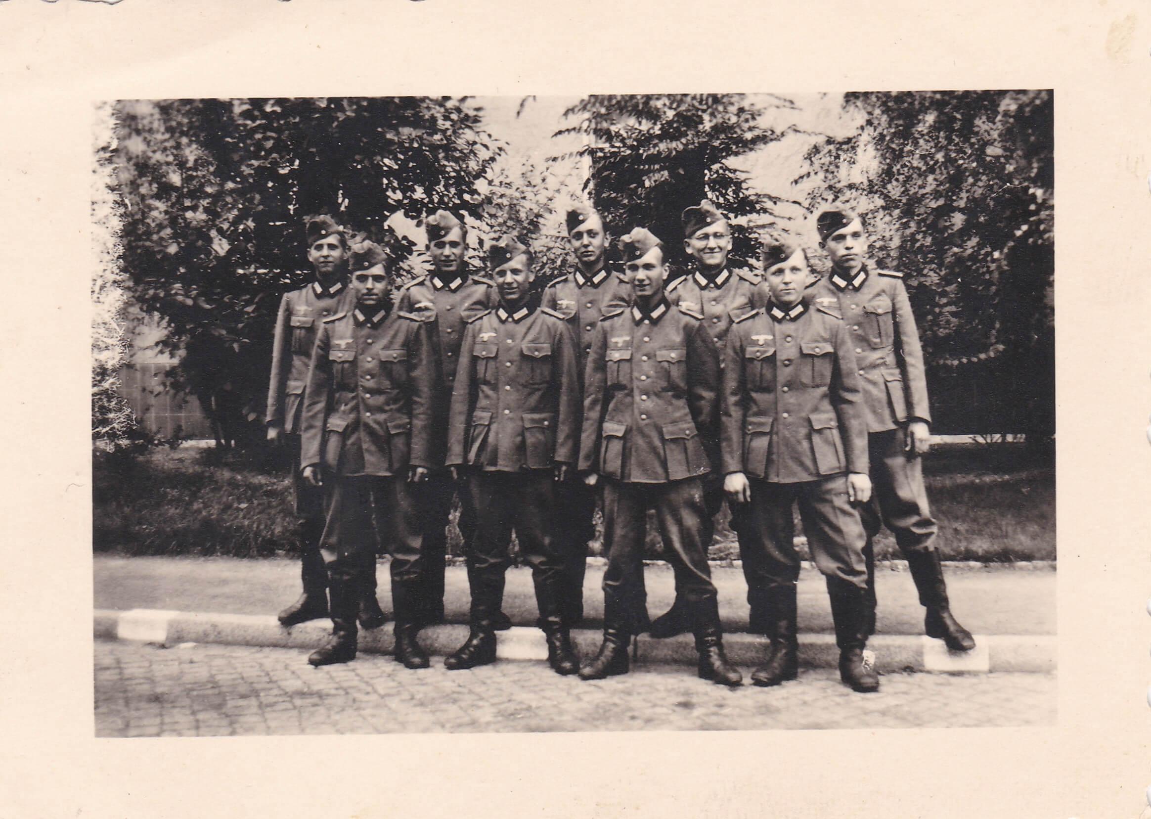 Wehrmacht soldaten wo2 foto uniform