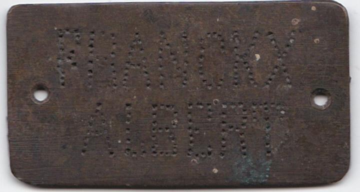 Wo1 Belgisch grafplaatje