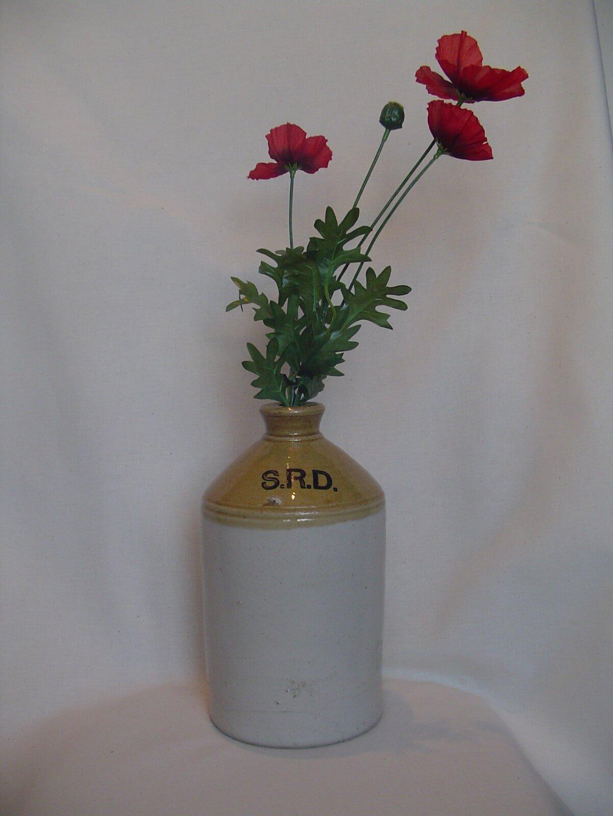 Britse rum jar S.R.D. wo1 eerste wereldoorlog