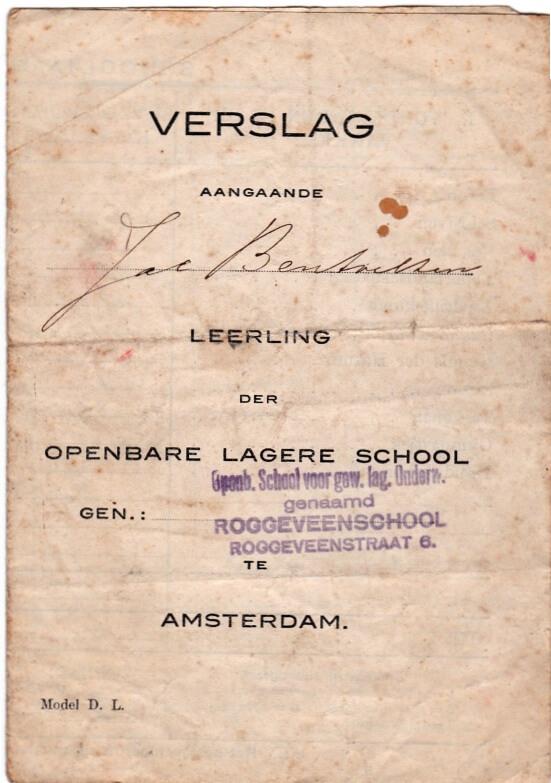 Rapport Roggeveenschool