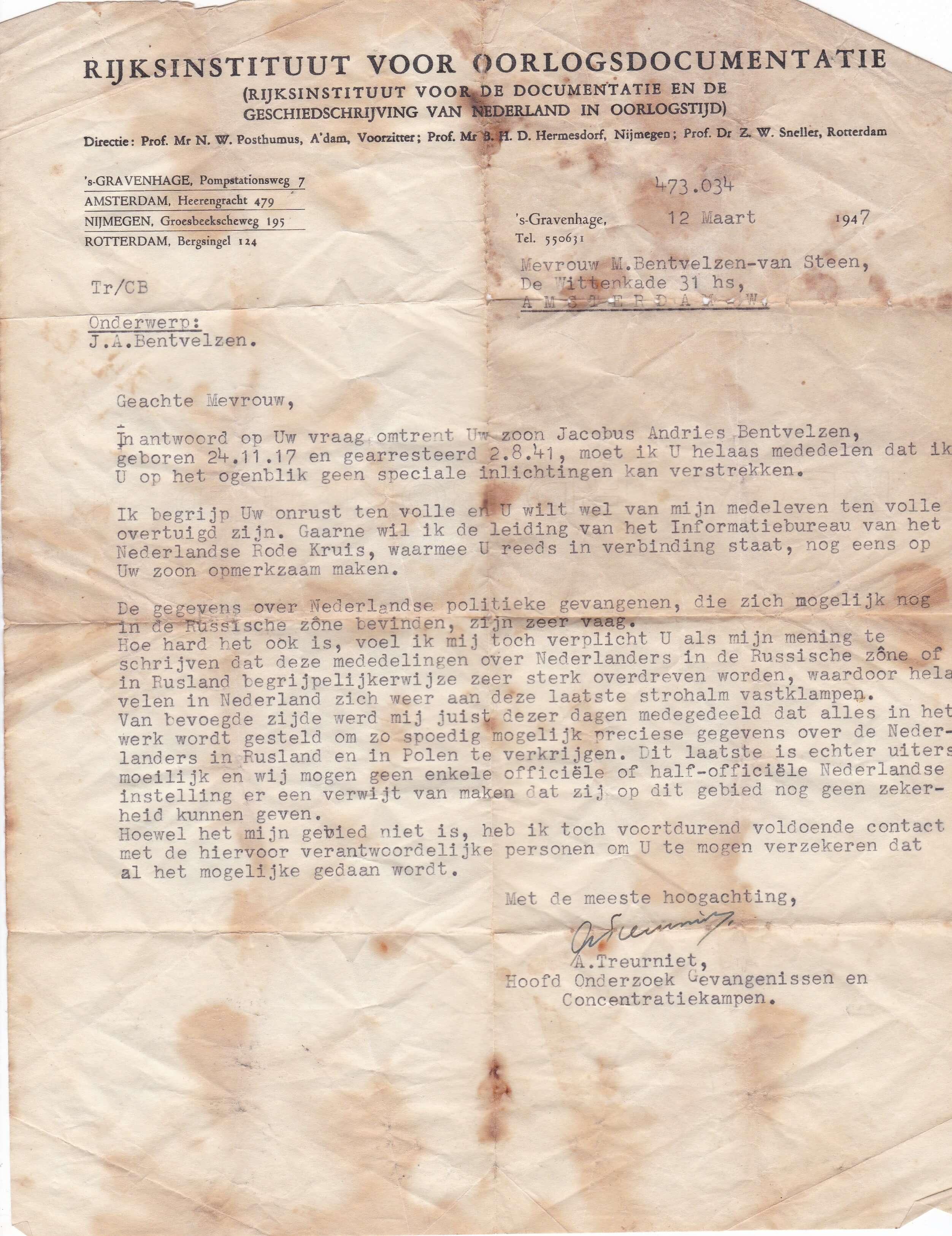 Rijksinstituut voor oorlogsdocumentatie