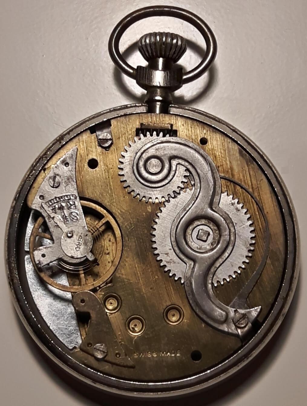 Roskopf patent 1a horloge mechaniek