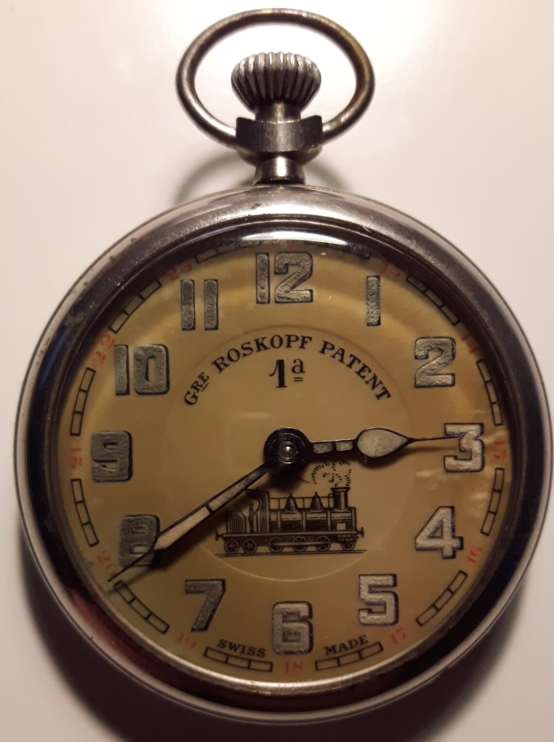 roskopf patent 1a pocketwatch swiss