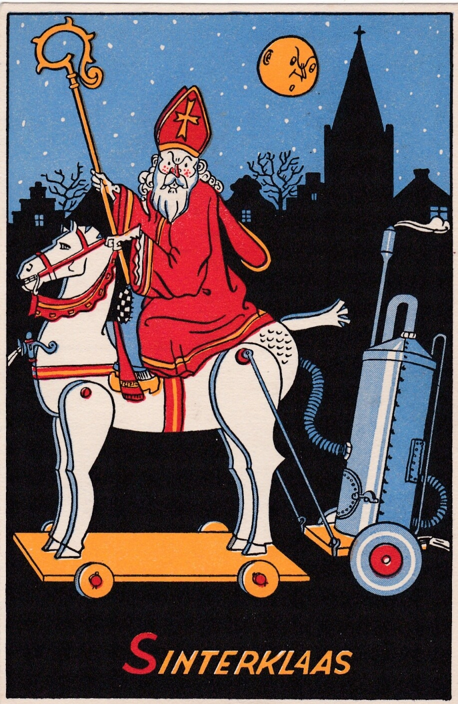 Spotprenten Sinterklaas wo2