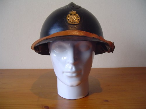 Belgische helm Wo2 burgerbescherming