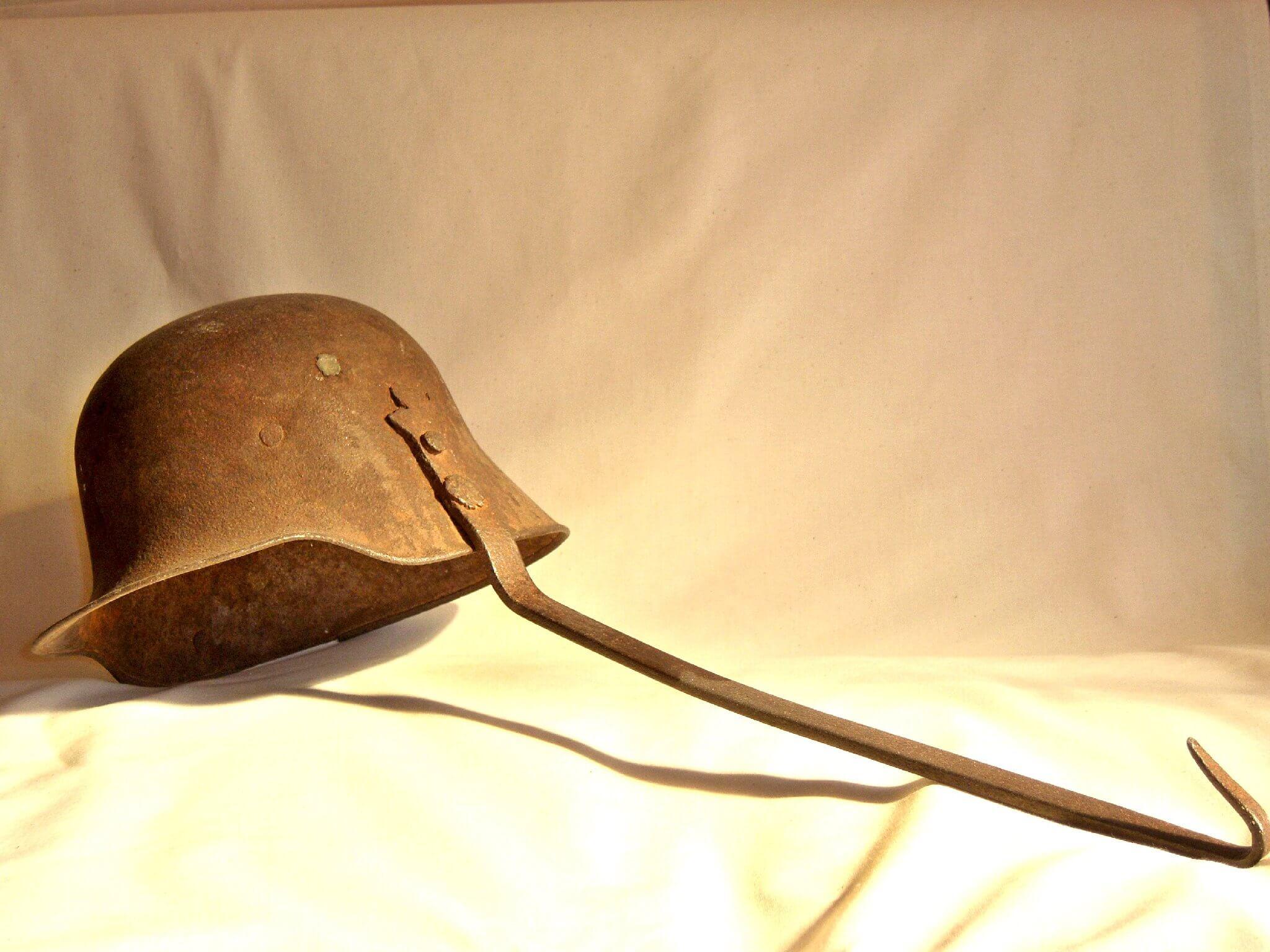 Duitse helm M16 uit de eerste wereldoorlog wo1