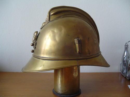 Franse helm van koper