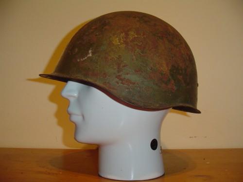 Russische helm ssh40 uit de Tweede wereldoorlog ww2 wo2