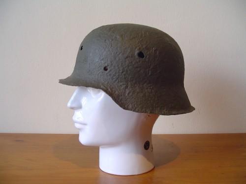 Duitse helm uit de tweede wereldoorlog wo2 ww2 duitse helm