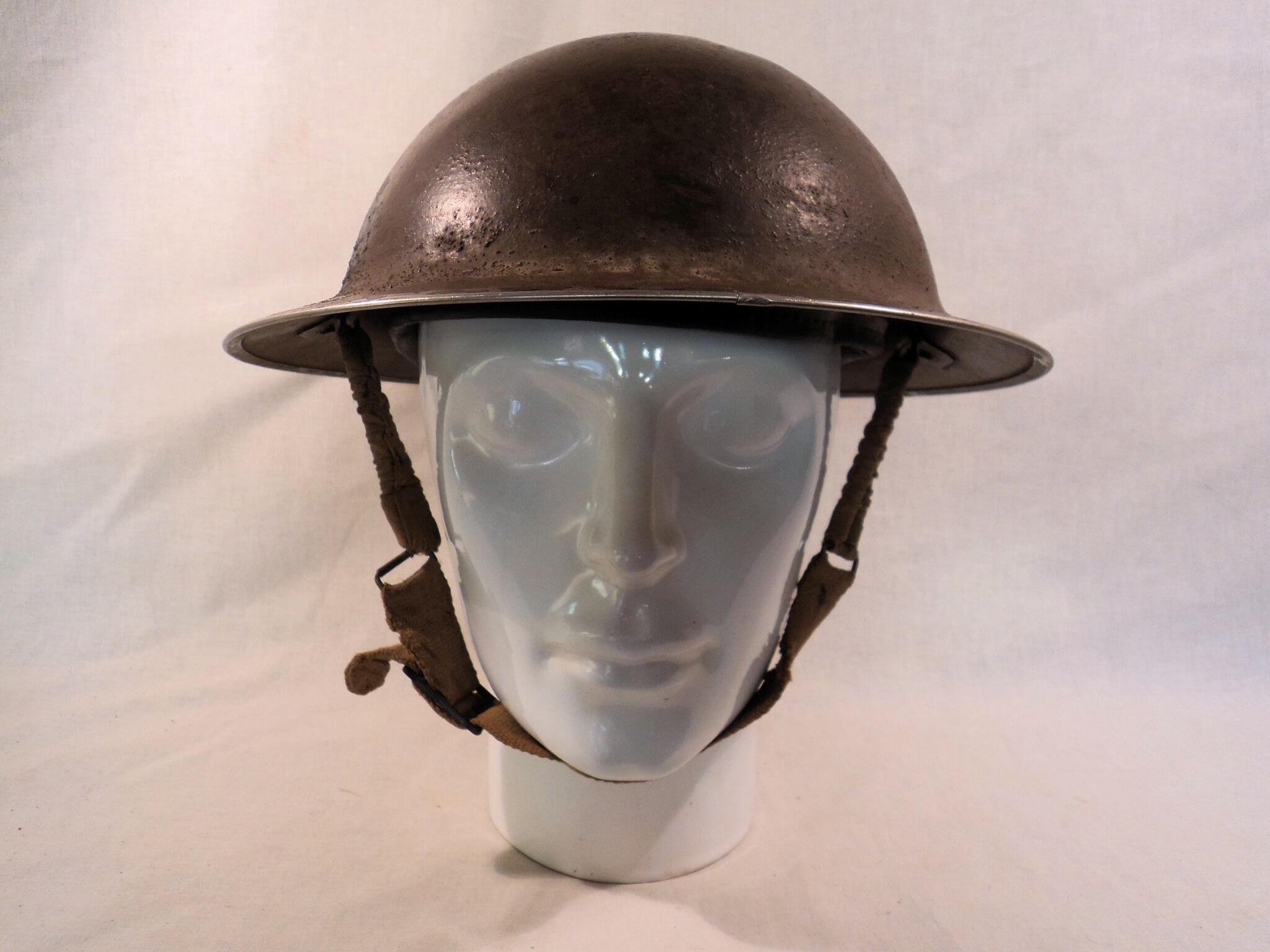 Engelse helm uit de tweede wereldoorlog uit 1941
