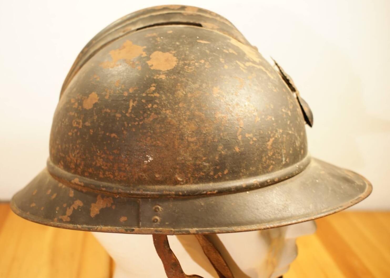 Franse helm Adrian wo1