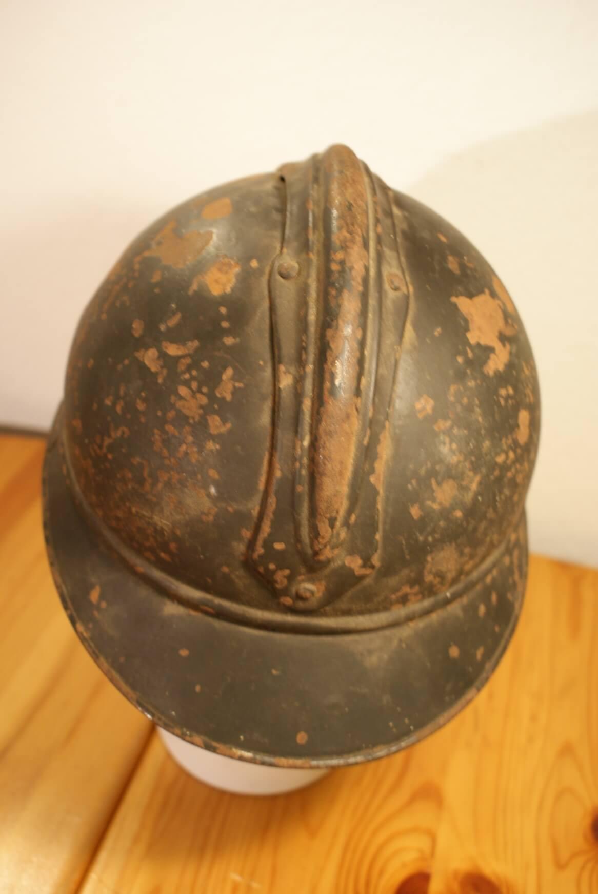 Franse helm eerste wereldoorlog RF