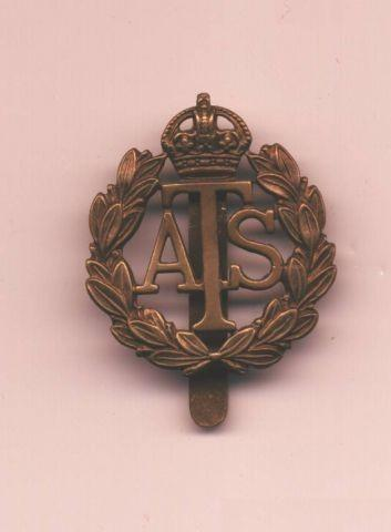 Auxiliary Territorial Service  ATS Embleem WW2 Wo2  verzameling
