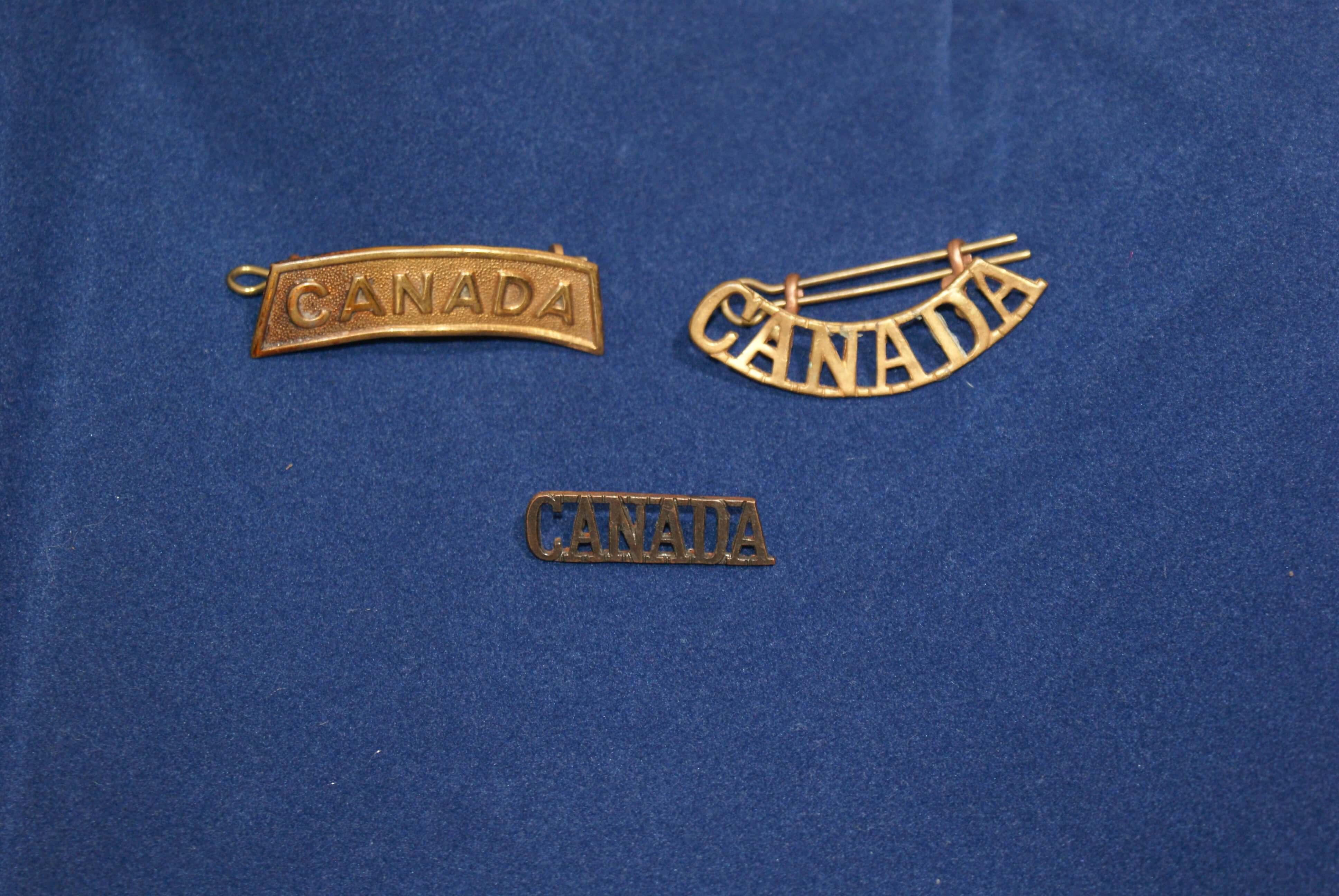 Canadese mouw emblemen wo2