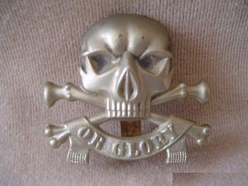 Wo2 Insignes van Britse cavellerie Light Dragoons ww2