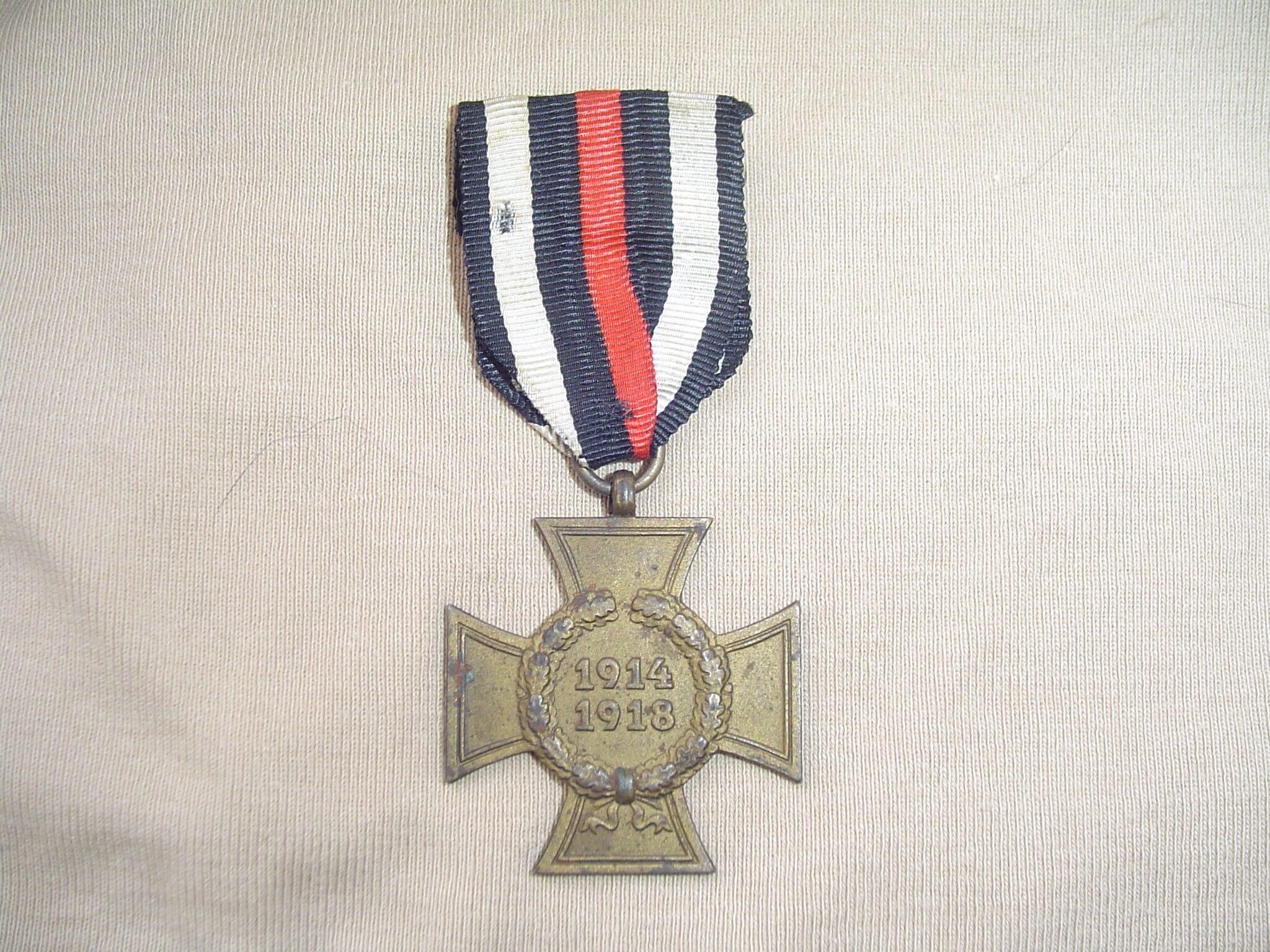 Duitse frontkampfer kruis