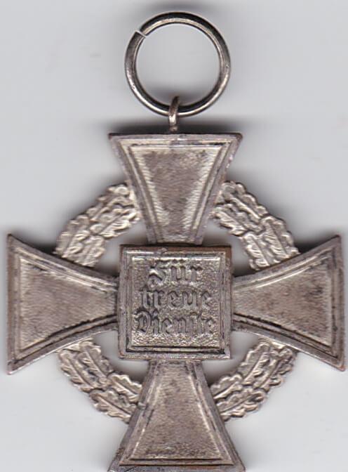 Duitse Medaille onderscheiding für treue Dienste Wo2