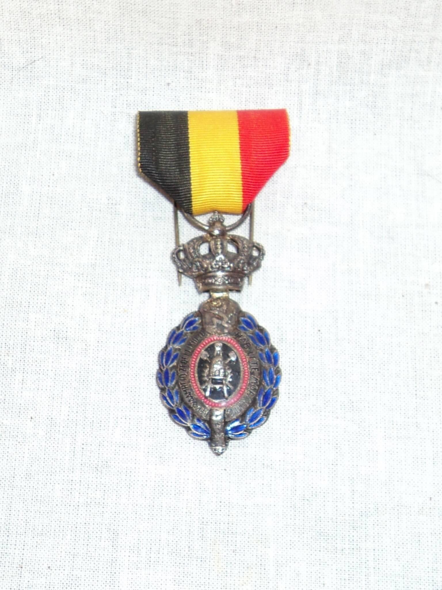 Belgische Leopold medailles tweede wereldoorlog