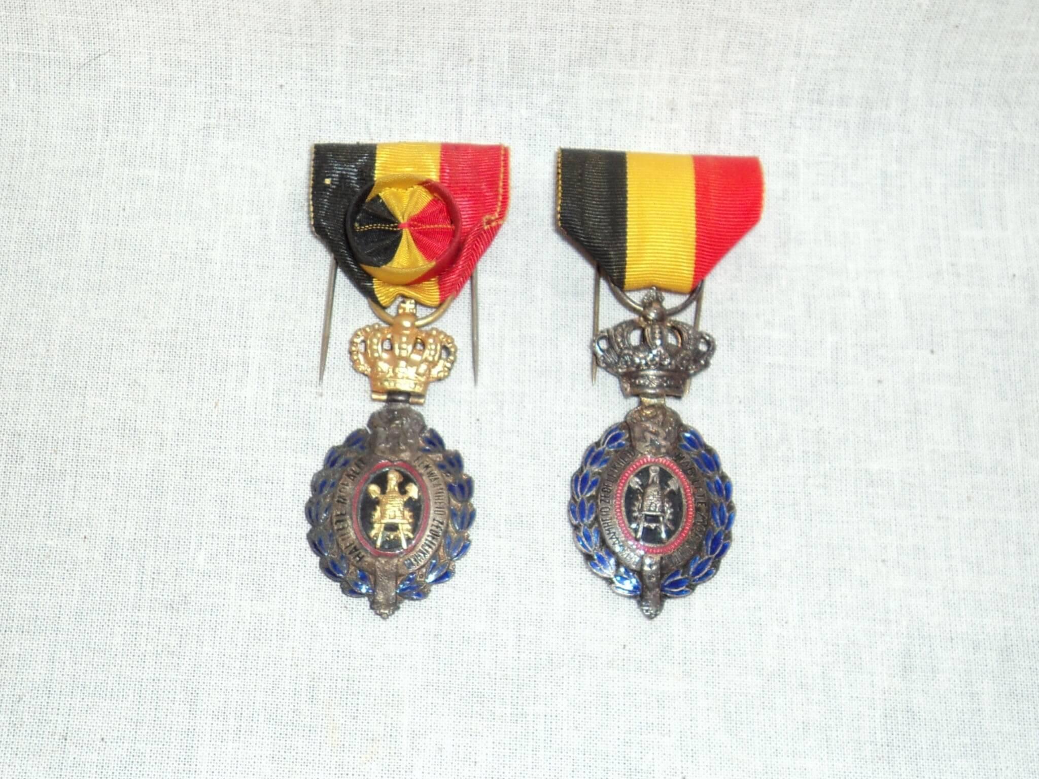 Belgie Leopold medailles de tweede wereldoorlog wo2