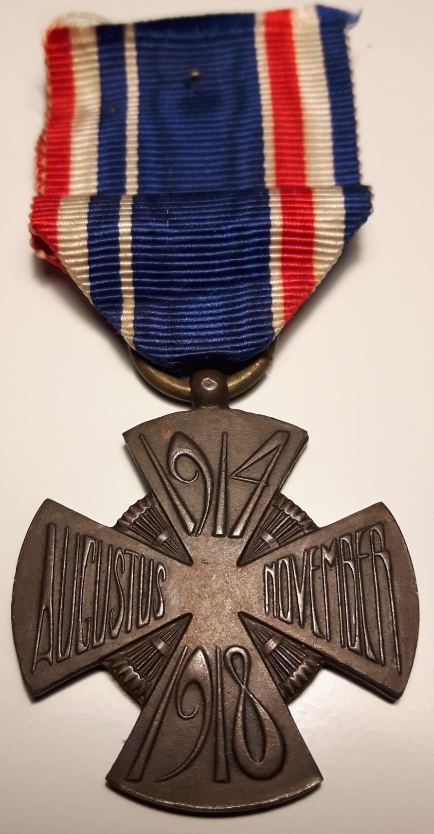 Mobilisatiekruis 1914-1918