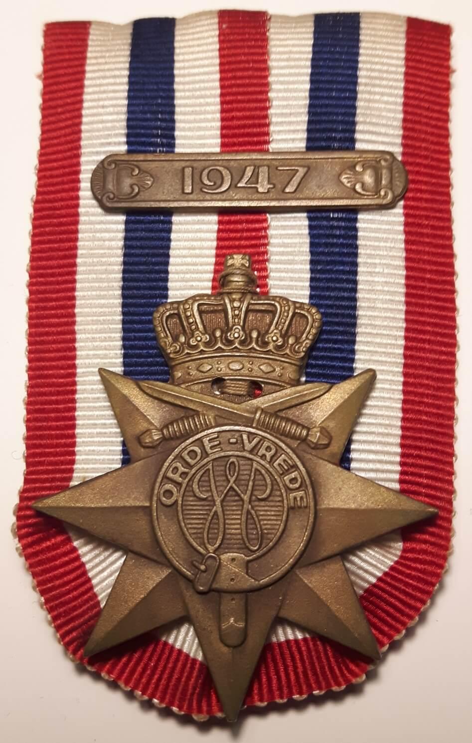 orde en vrede onderscheiding