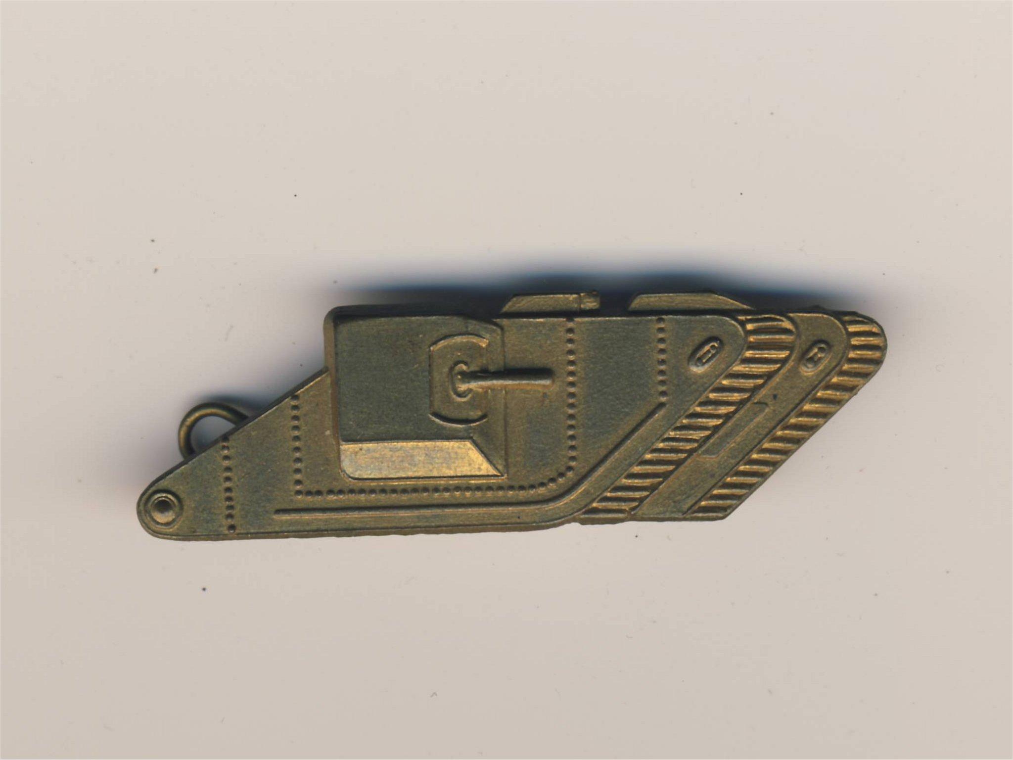 Tweede wereldoorlog Britse insigne tanktroepen tuimeltank embleem Engels embleem wo2