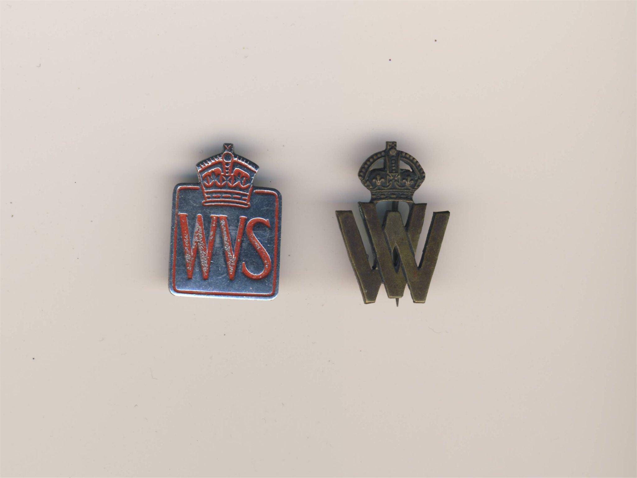 Embleem de tweede wereldoorlog Wo2 War volunteers speldje na oorlogs
