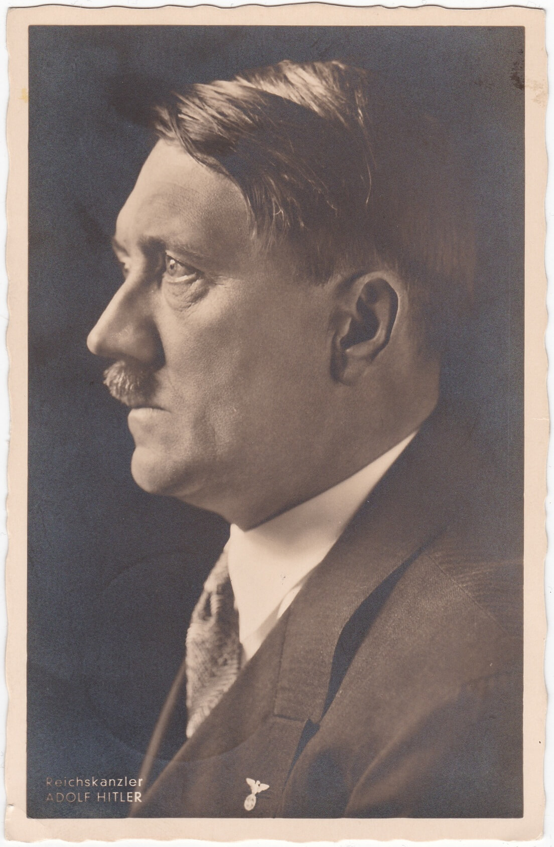 Hoffmann portret foto Adolf Hitler