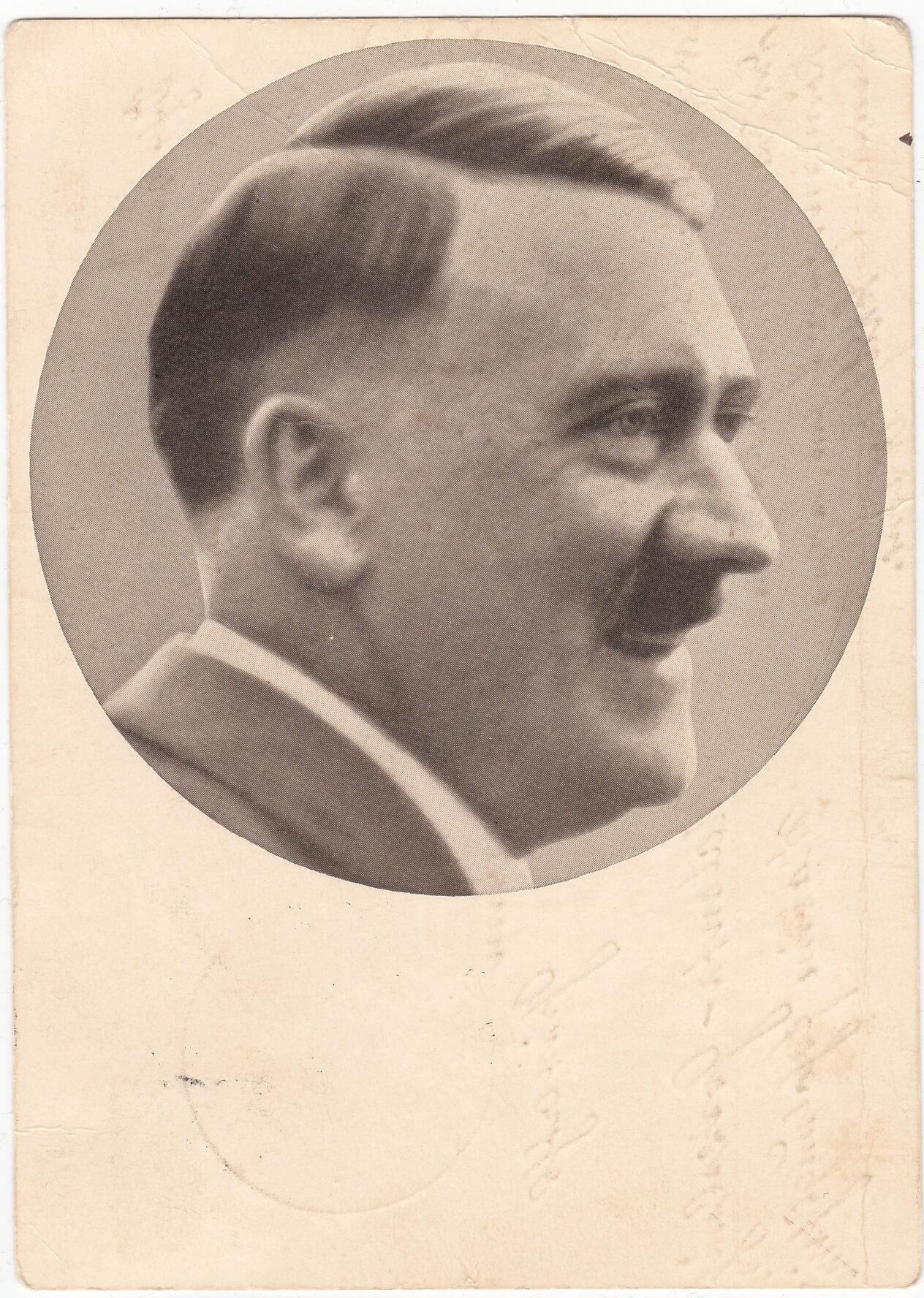 vroege foto adolf hitler