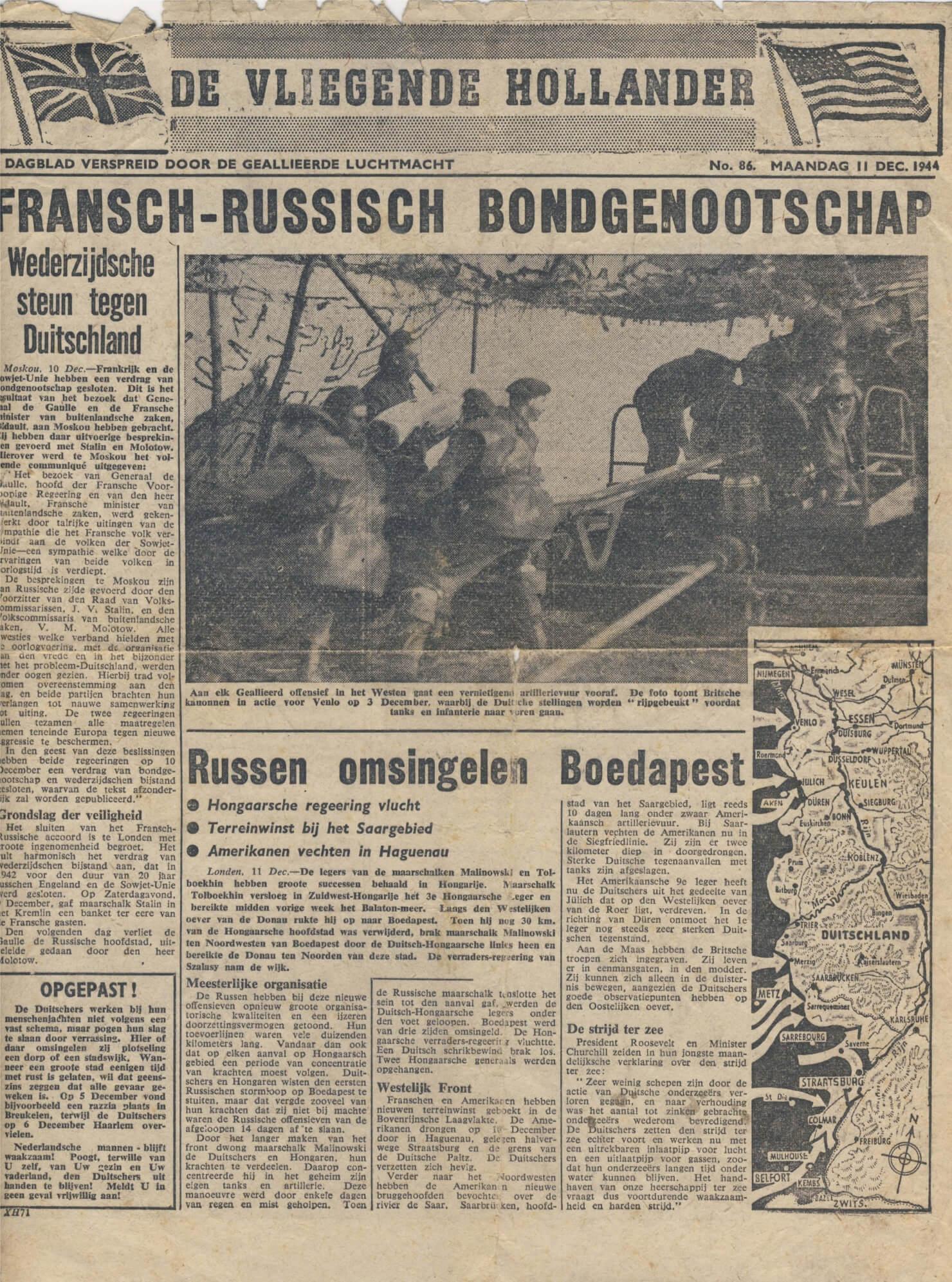 De vliegende Hollander 86 wo2 de tweede wereldoorlog