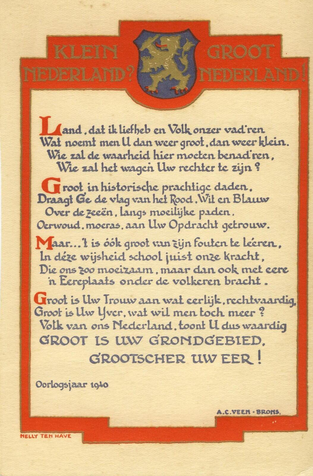 Gedicht over de tweede wereldoorlog wo2