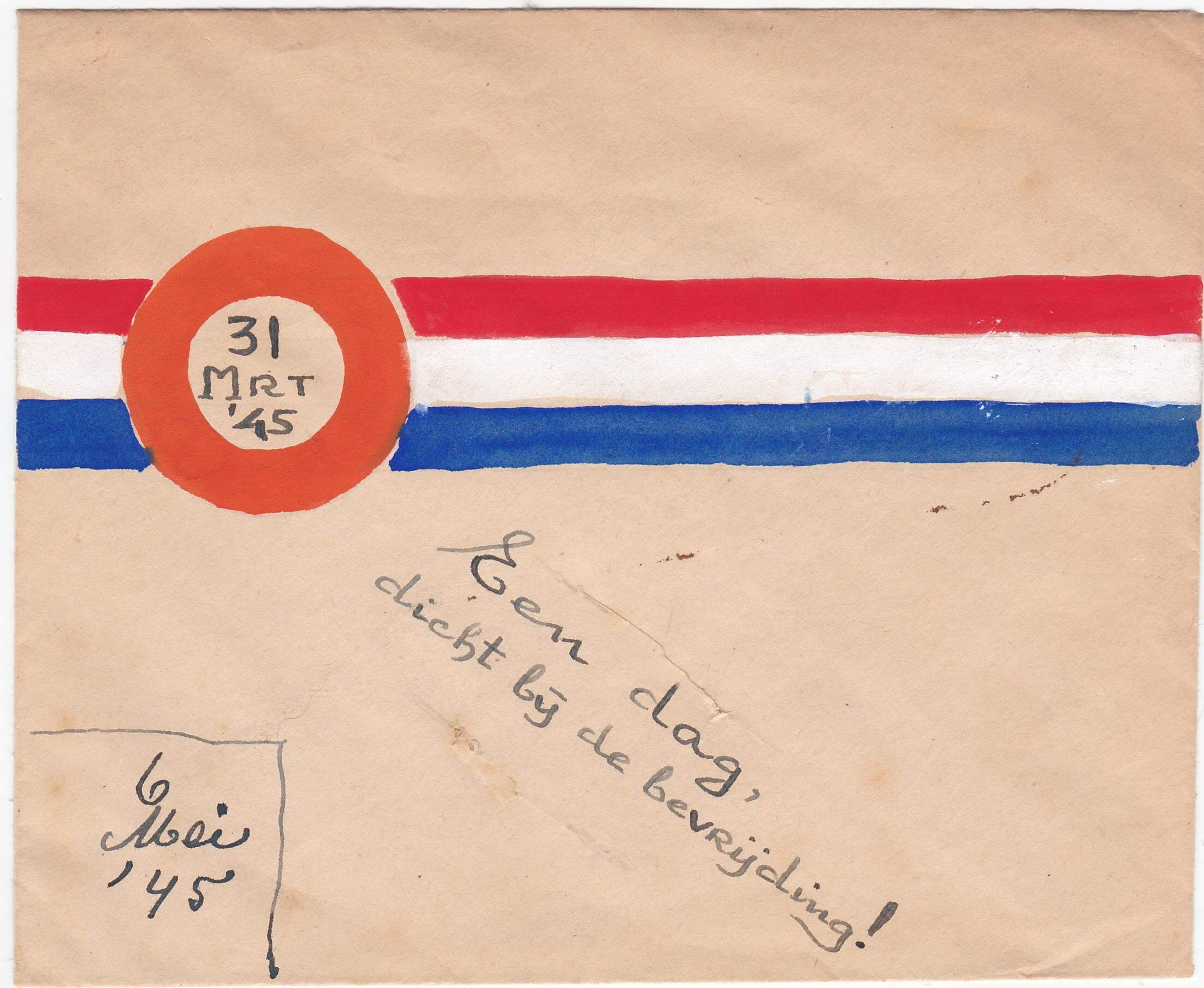 envelop uit 1945