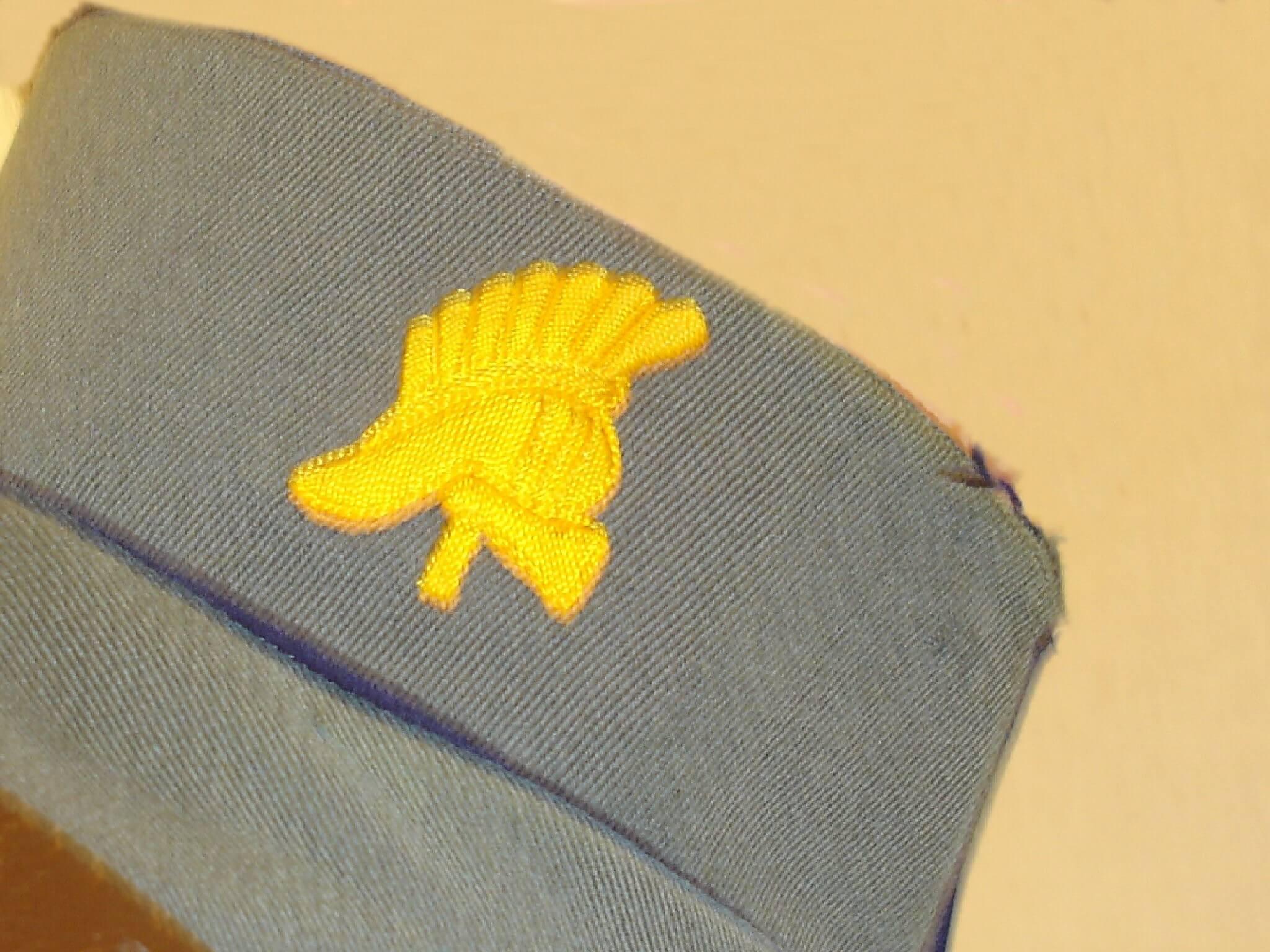 Nederlands uniform 1940 uit de tweede wereldoorlog Genie kraag embleem kraagspiegel