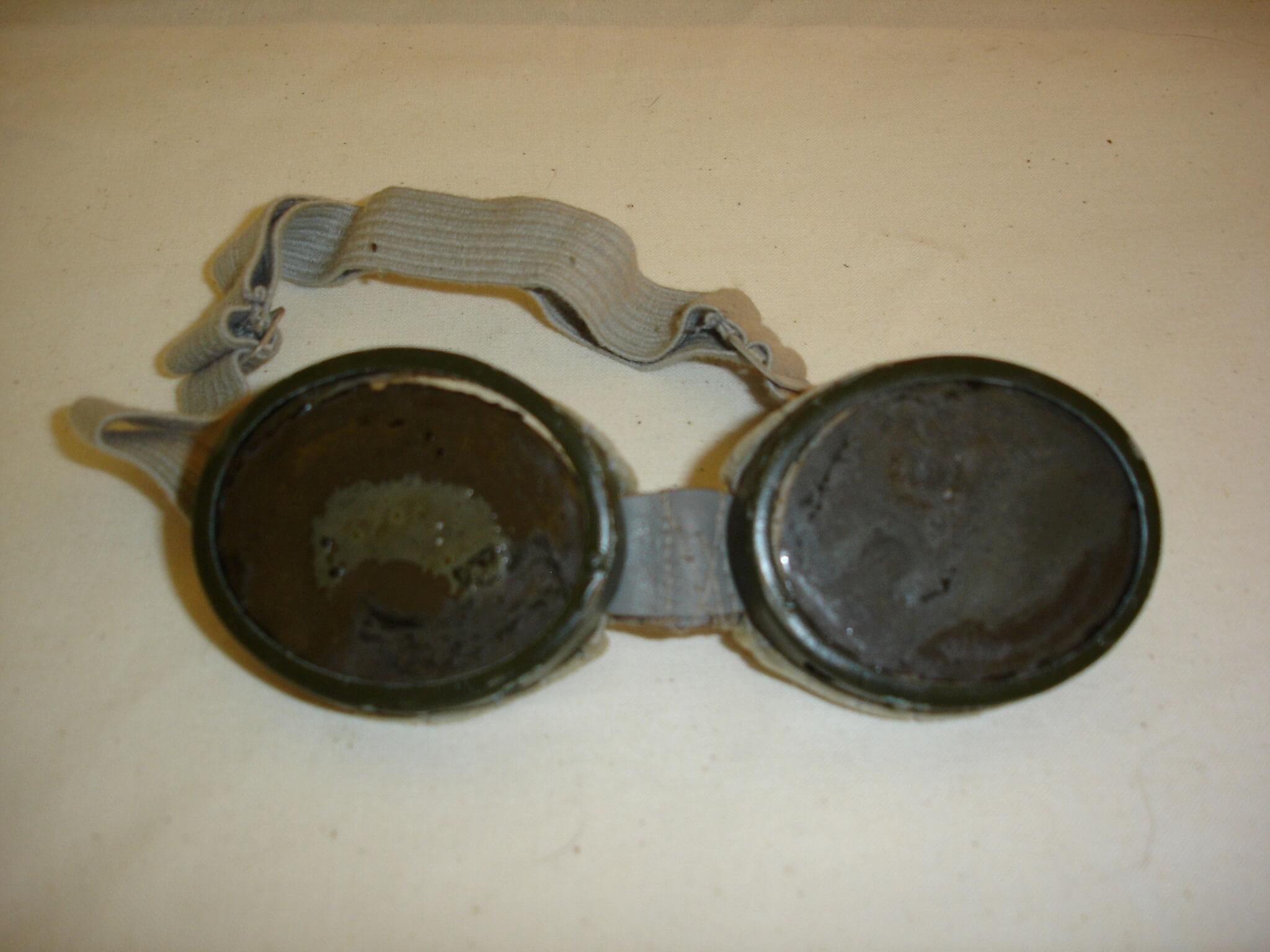 Duitse bril motorrijders uit de tweede wereldoorlog wo2