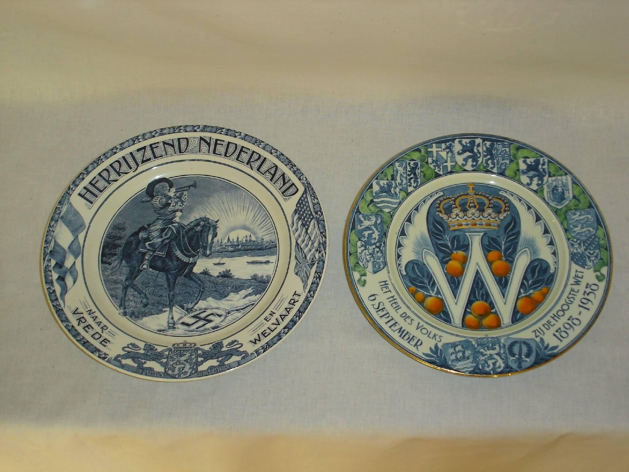 Herdenkingsborden bevrijding Societe Ceramique Maastricht