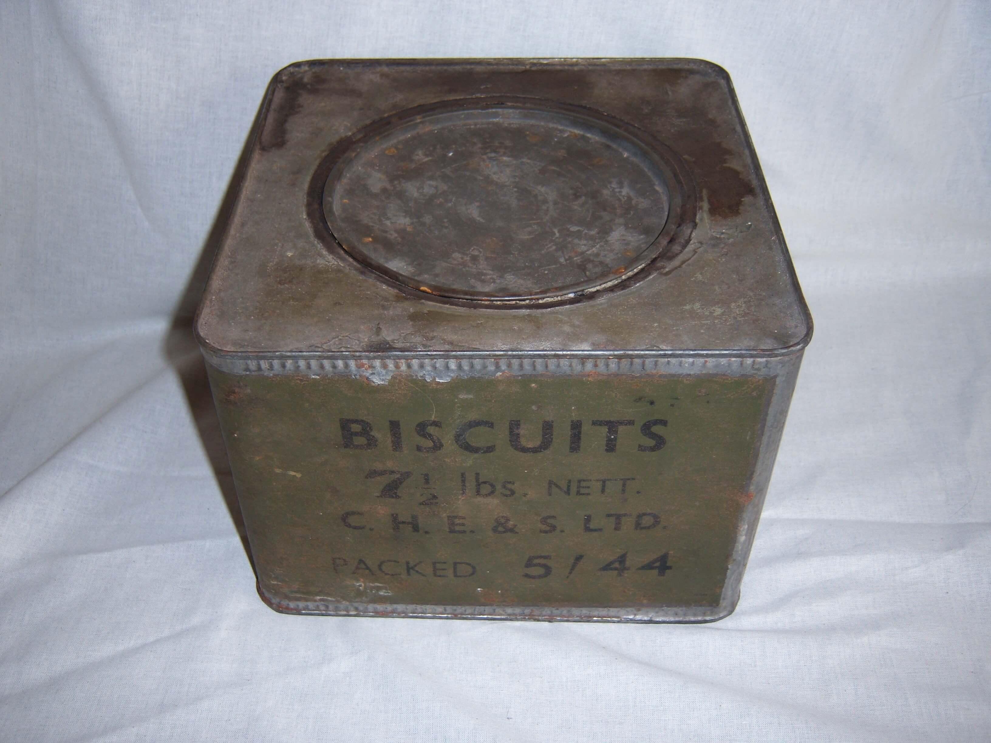 Britse biscuit verpakking 1944 Wo2