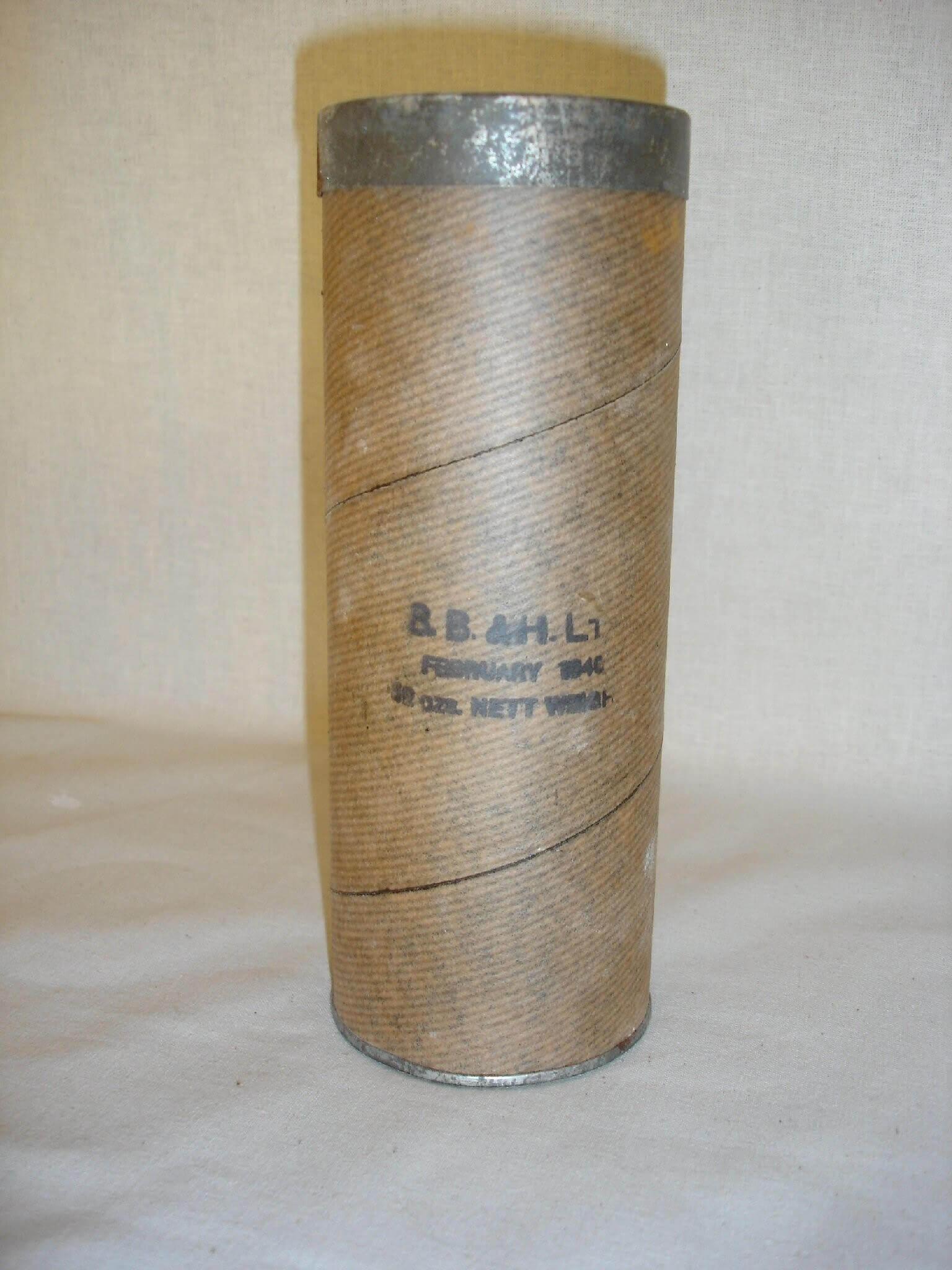 Footpowder uit de tweede wereldoorlog