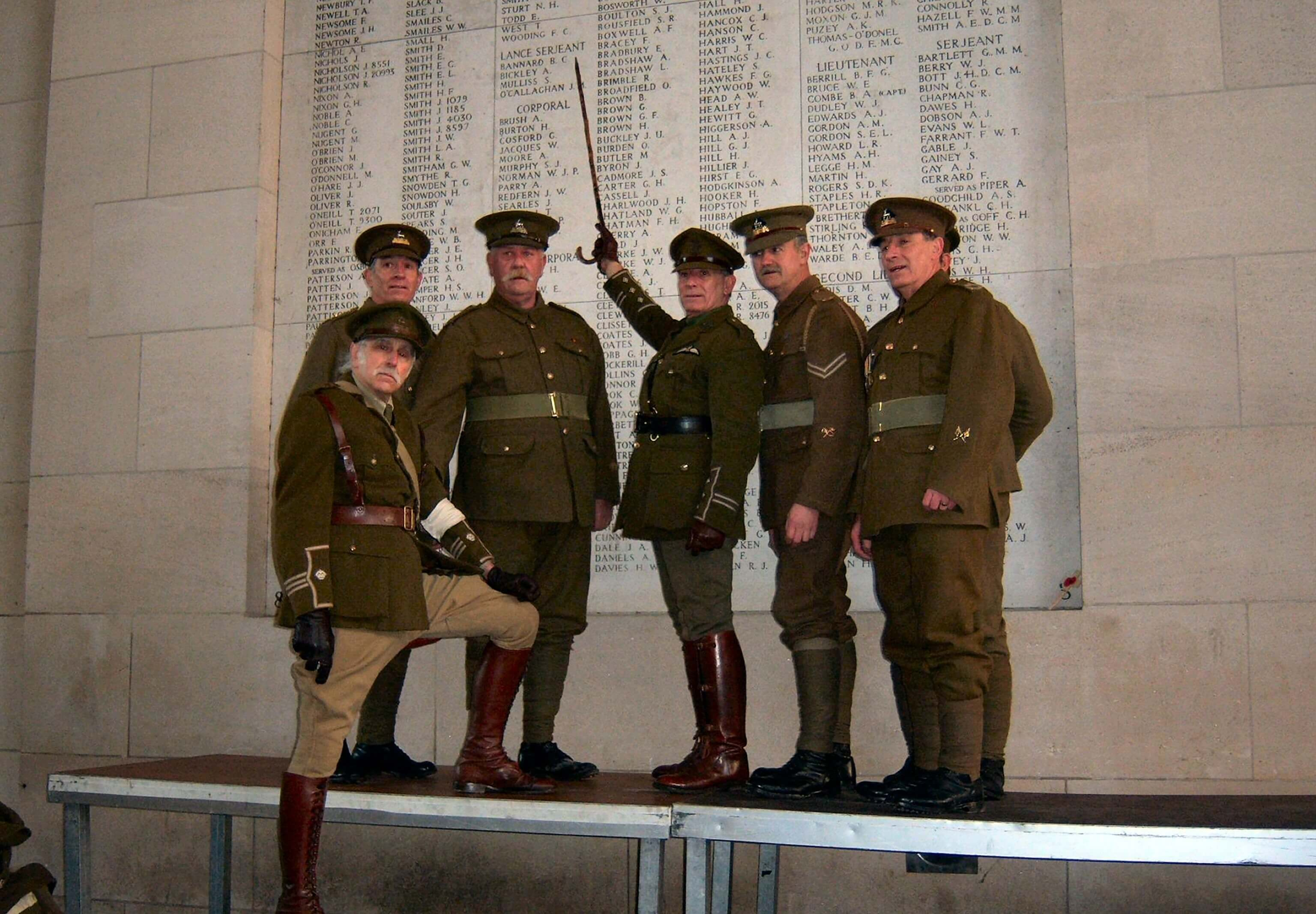 wo1 uniformen eerste wereldoorlog