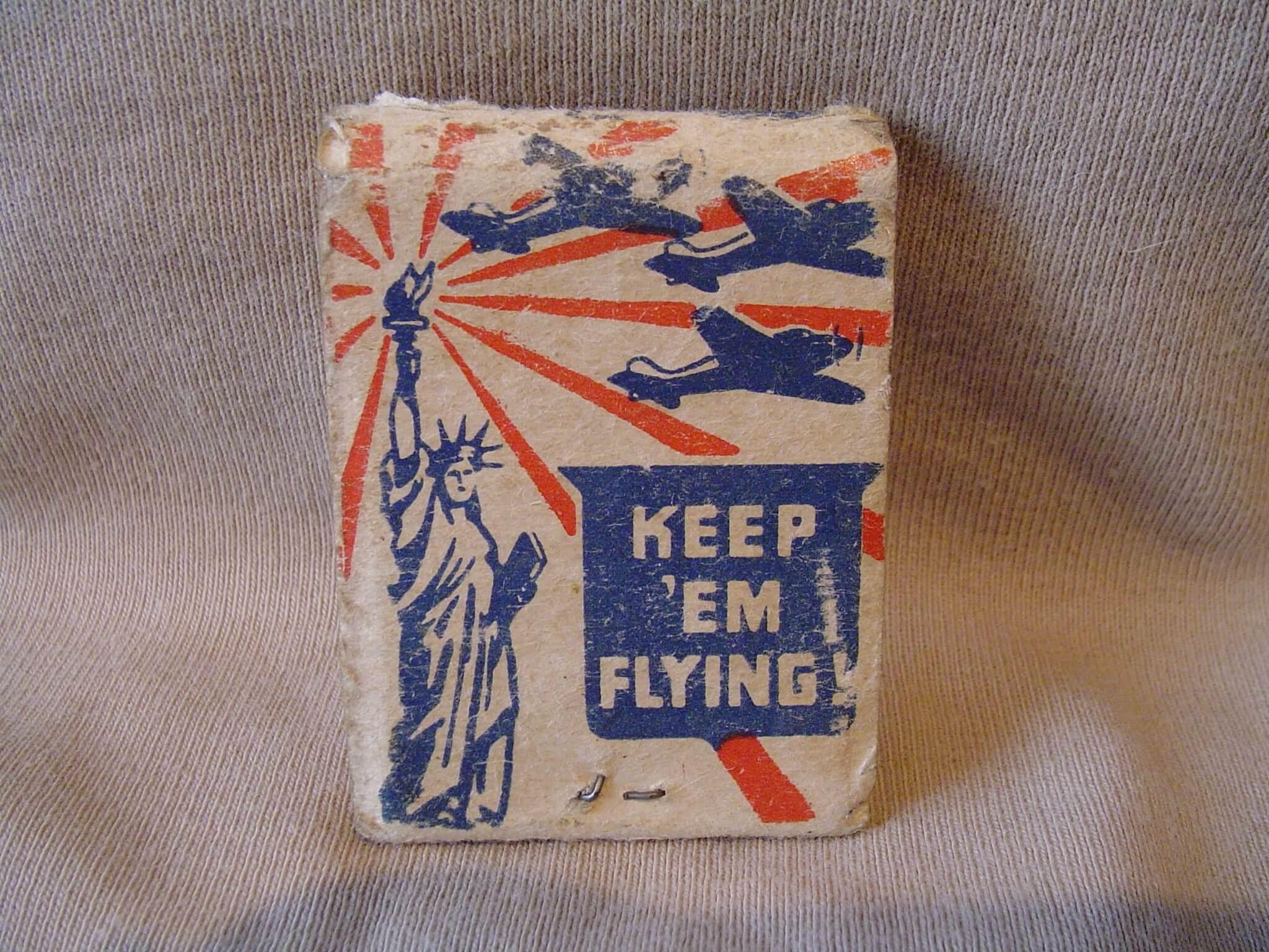 Amerikaanse Lucifers Buy War Bonds uit de tweede wereldoorlog