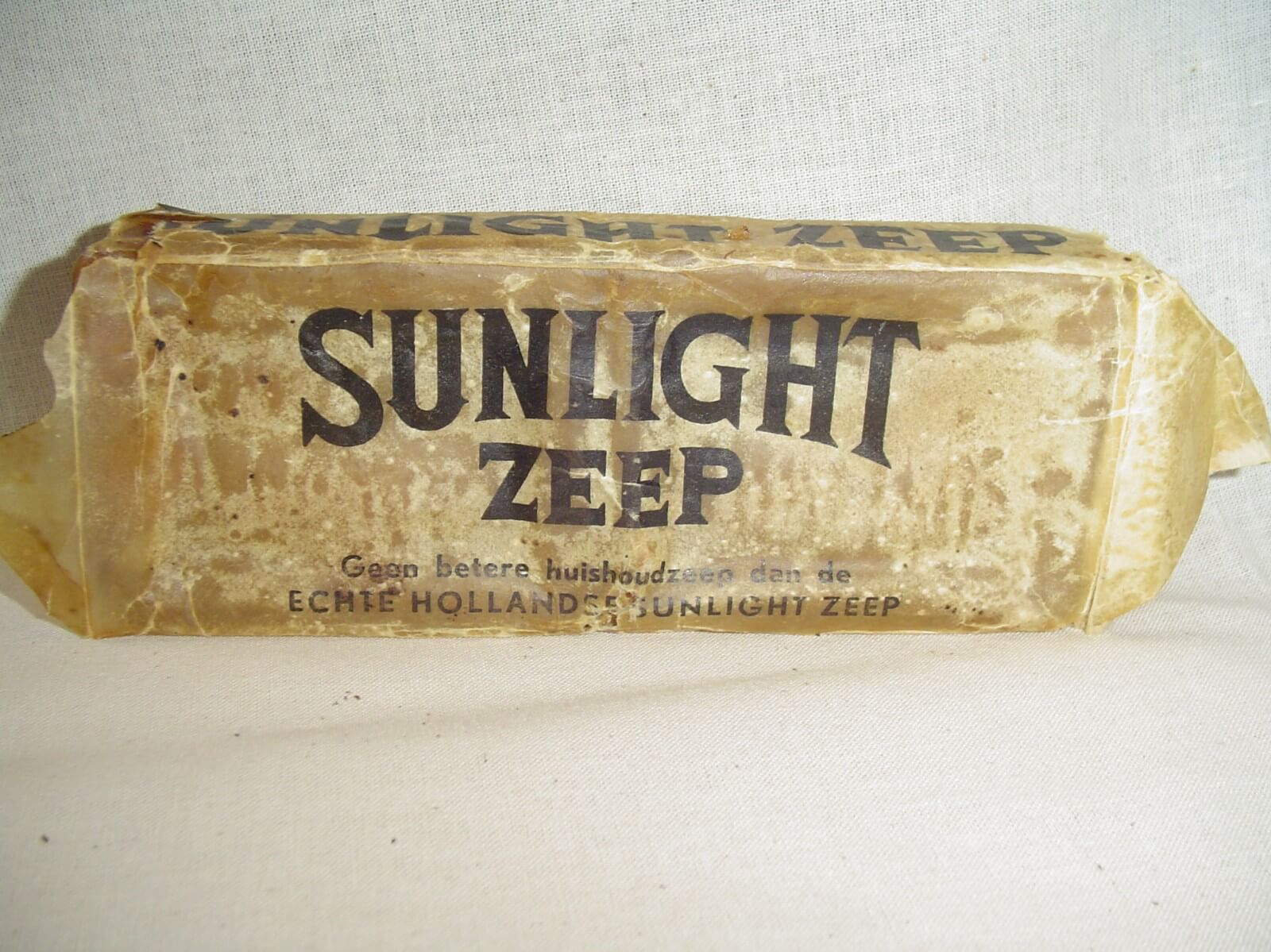 Sunlight zeep uit de tweede wereldoorlog