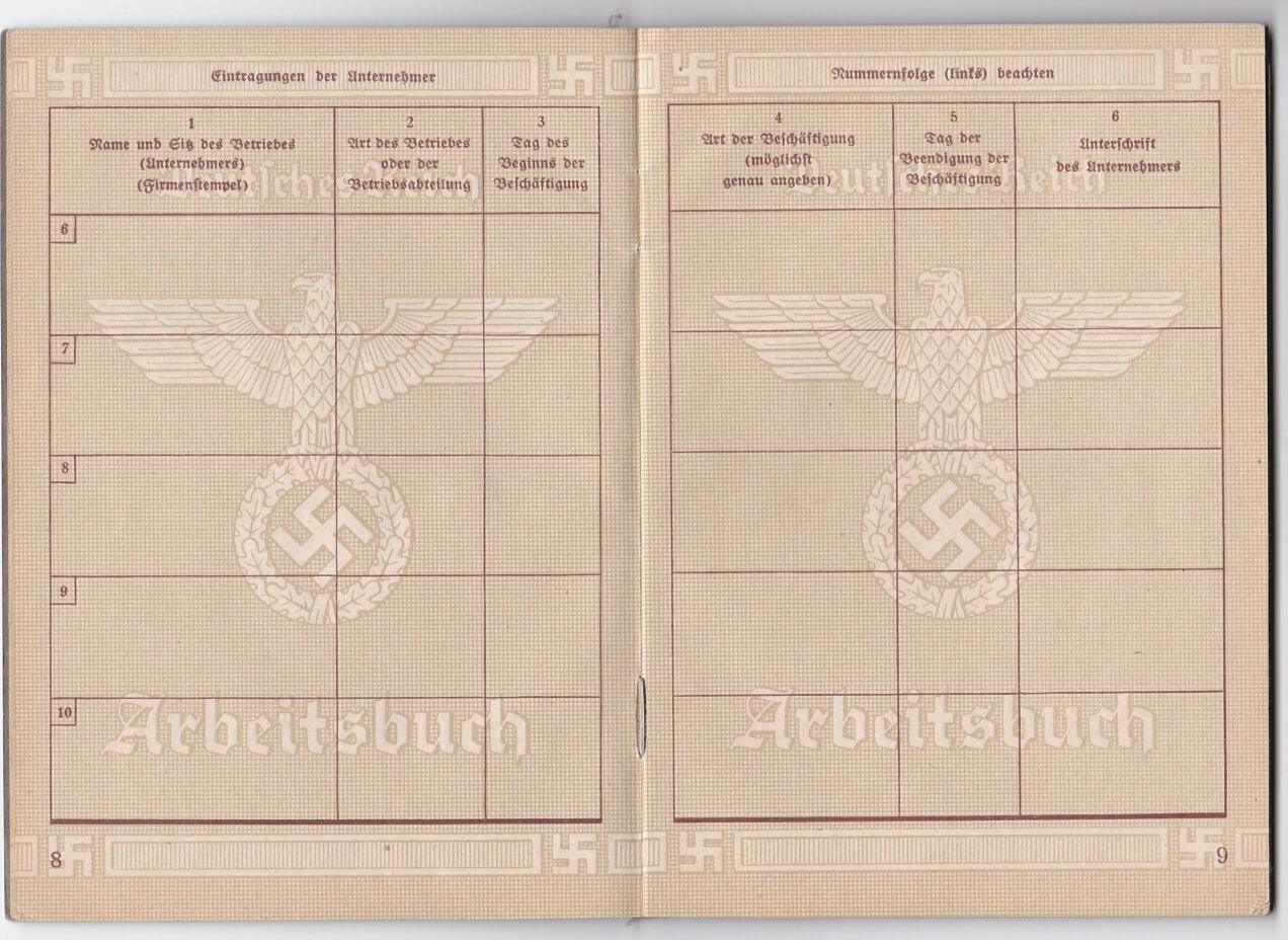 Arbeitsbuch Wo2 Welt Krieg