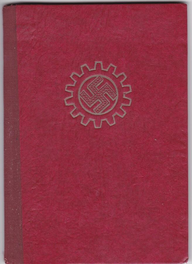 DAF Deutsche arbeitsfront book ww2