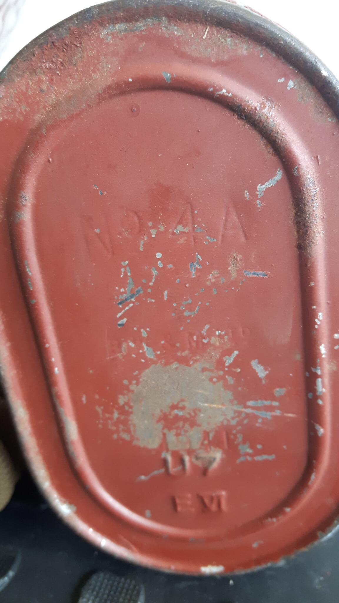 Gasmasker filter no4 A tweede wereldoorlog