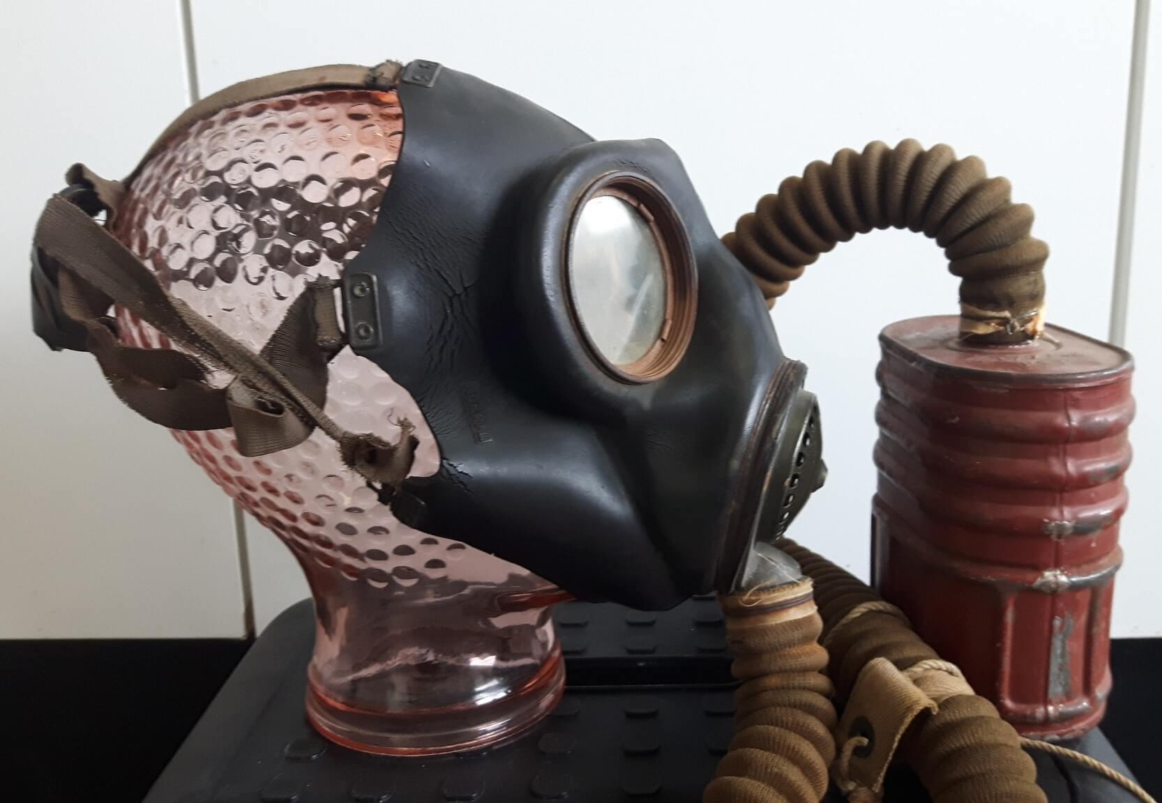 Gasmasker wo2 no.4 Mark 3