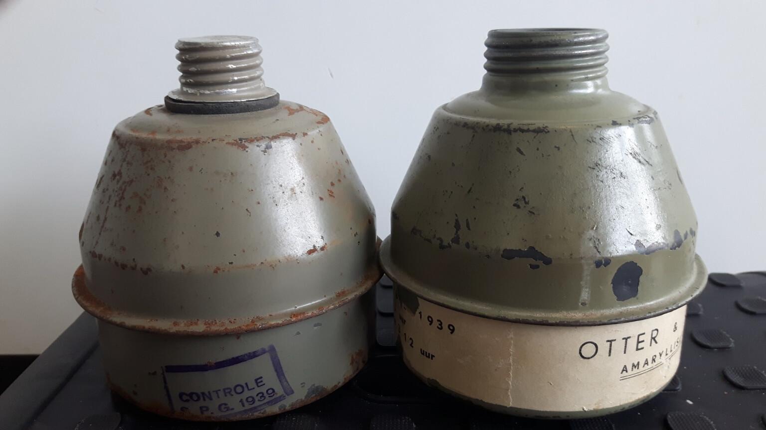 Kinder gasmasker filterbus L.702