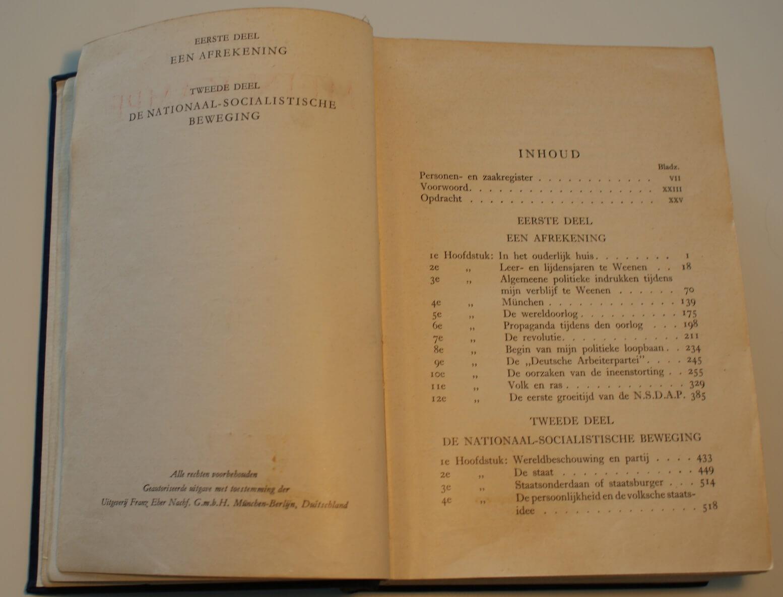 Mein Kampf twee delen 6e druk