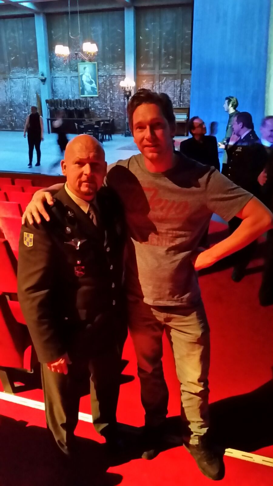 Met Marco Kroon Militaire Willems-orde.