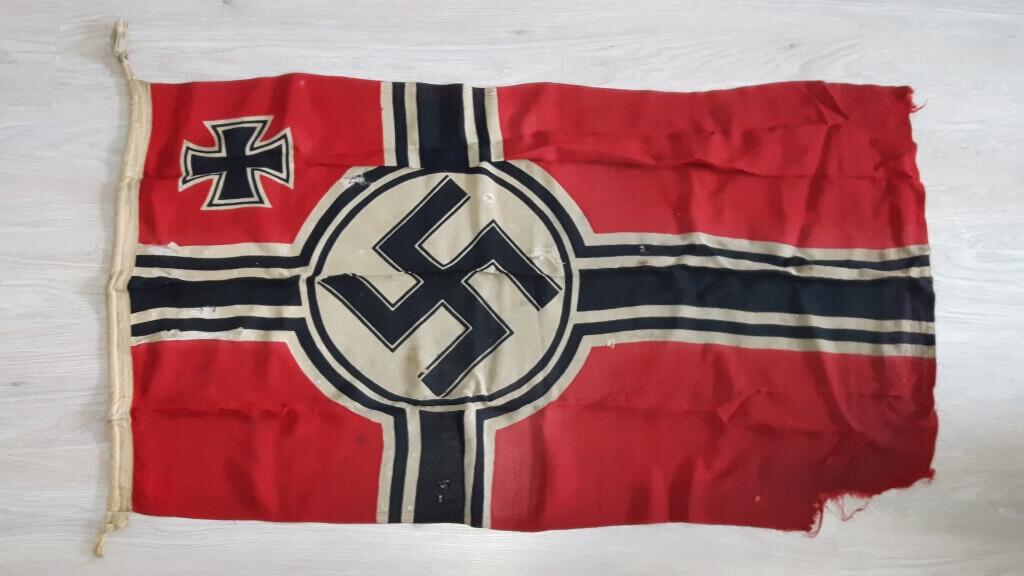 hakenkruisvlag Kriegsfahne tweede wereldoorlog origineel